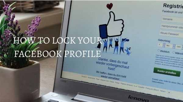 how to lock your facebook profile